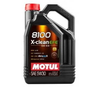 Engine Oil Motul 5W30 X-clean 8100 4 L