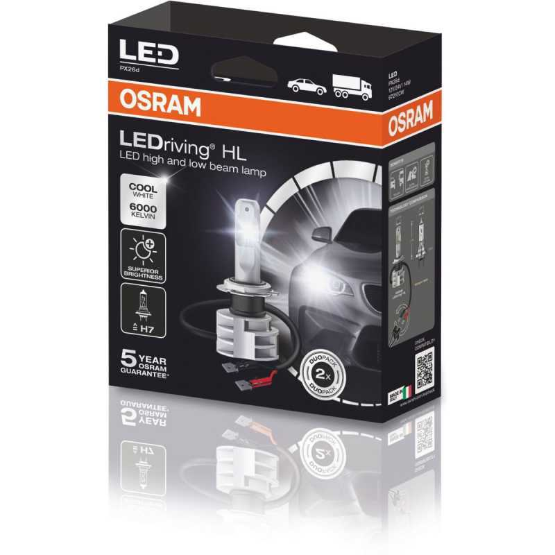 Osram H7 LED Headlight Kit 2 Pcs