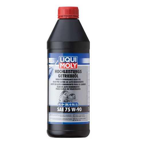 زيت فتيس LIQUI MOLY HIGH PERFORMANCE GEAR OIL (GL4+) SAE 75W-90 , 1 lLtr
