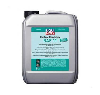 Coolant Water LiquiMoly Raf 11 Ready Mix 5L