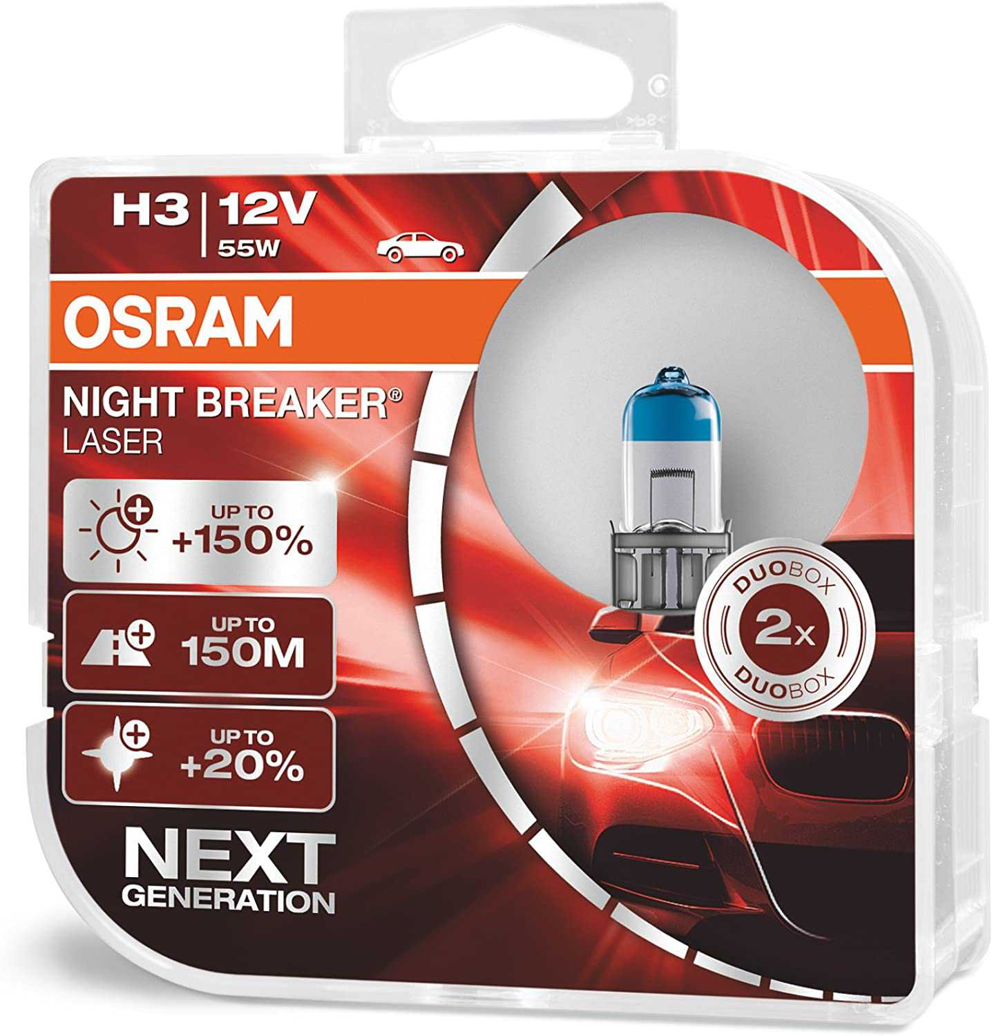 Osram H3 Night Breaker Laser Kit