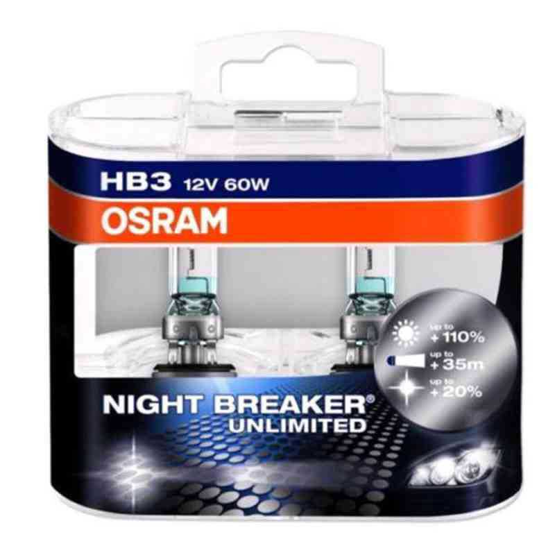 Osram Head lamp HB3 9005 Night Breaker Kit